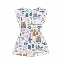 Sierra Dress Post Rd/Bl 8