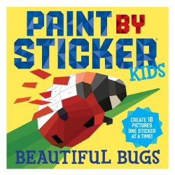 Paint by Sticker Kids Bugs