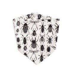 Kerchief Bib Bug Collection Black