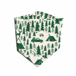 Kerchief Bib Campground Green