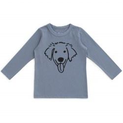 LS Tee Dog Slate 6