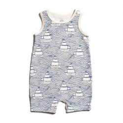 Tank Romper High Seas 0-3M