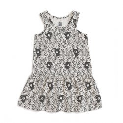 Valencia Dress Bears Black 2