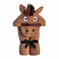 Hooded Towel- Horse