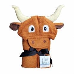 Hooded Towel- Longhorn