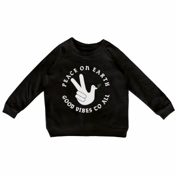Peace On Earth Pullover 12/14