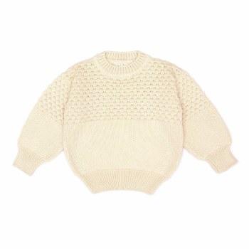 Aubrey Sweater Natural 0-3M