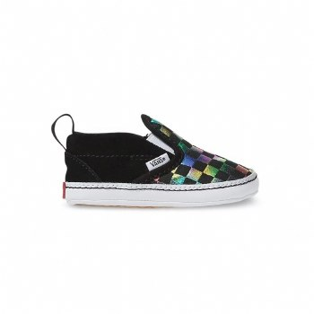 Slip-On V Crib Iridscnt Chk 2