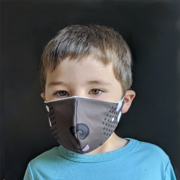 Dog Face Mask 3-5Y