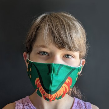 Dragon Face Mask 3-5Y