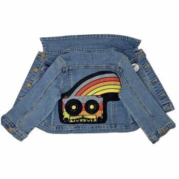 Cassette Patch Denim Jacket 2