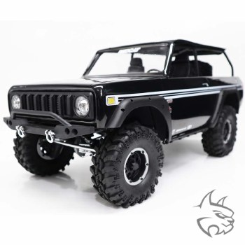 Redcat Gen8 International Scout II AXE Edition 1/10 4WD Ready to Run Scale Rock Crawler (Black)