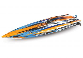 "Traxxas Spartan 36"" High Performance Race Boat Ready to Run (Orange)"