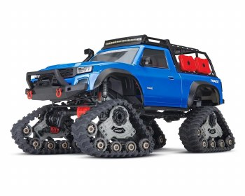 BACK ORDER AVAILABLE - Traxxas TRX-4 1/10 Scale Trail Rocker Crawler with All-Terrain Traxx System (Blue)