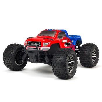 ARRMA Granite 4x4 3S BLX Brushless Ready to Run Monster Truck (Red/Blue)
