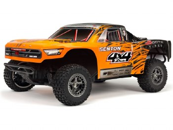 ARRMA Senton 4x4 3S BLX Brushless Ready to Run Short Course Truck (Orange/Black)