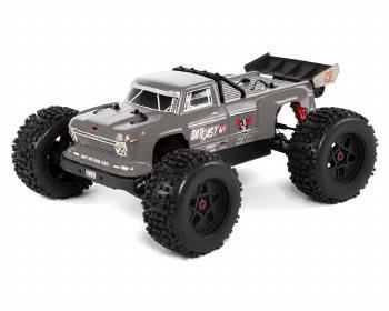 ARRMA Outcast 6S BLX Brushless Ready to Run Monster Stunt Truck (Silver) (V4)