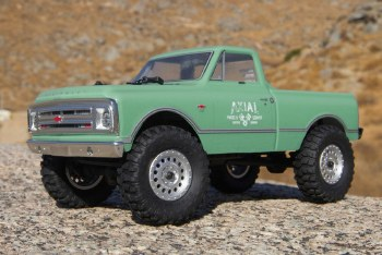 BACK ORDER AVAILABLE - Axial SCX24 1967 Chevrolet C10 1/24 4WD Ready to Run Scale Mini Crawler (Green)