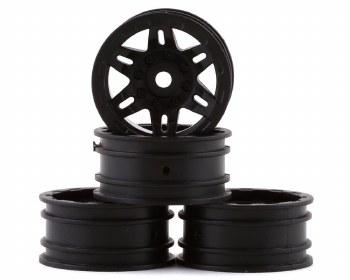 1.0 Rockster Wheels Black (4pc