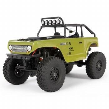 Axial SCX24 Deadbolt 1/24 Ready to Run Scale Mini Crawler (Green)