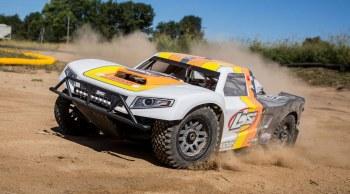 Losi 5IVE-T 2.0 1/5 4WD Short Course Truck Bind N Drive w/ 32cc Gasoline Engine (Grey/Orange/White)
