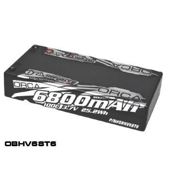 ORCA Infinite HV 3.7V 6800mah 1S 100C Lipo Battery