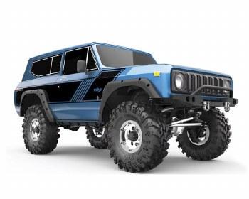 Redcat Gen8 International Scout II 1/10 4WD Scale Rock Crawler Ready to Run (Blue)