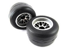 RIDE Pre-Mounted F104 Rear Slick Tire / R1 High Grip