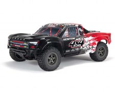 ARRMA 1/10 Senton 4x4 V3 #s BLX Brushless Short Course Truck Ready to Run (Red)
