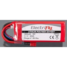 LiPo Battery 3S 11.1V 1800mAh