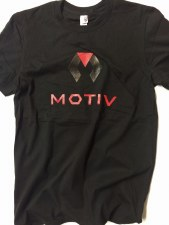 Motiv Signature Short Sleeve Shirt (L) (Black)
