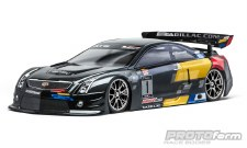 Protoform Cadillac ATS-V.R 1/10 Scale Touring Car Body (Clear) (190mm)
