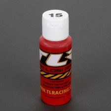TLR 15Wt Silicone Shock Oil, 2oz