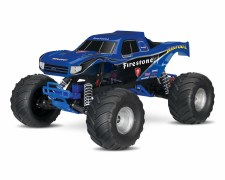 "Traxxas ""Bigfoot Firestone"" 1/10 2WD Monster Truck Ready to Run"