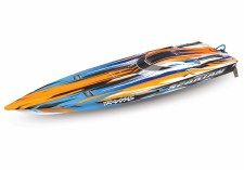 "Traxxas Spartan 36"" High Performance Race Boat Ready to Run (Orange)"