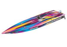 "Traxxas Spartan 36"" High Performance Race Boat Ready to Run (Pink)"