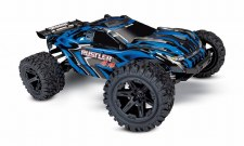 Traxxas 1/10 Rustler 4x4 Stadium Truck Ready to Run (Blue)
