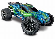 Traxxas 1/10 Rustler 4x4 VXL Brushless Stadium Truck Ready to Run (Green)