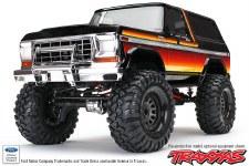 BACK ORDER AVAIALBLE - Traxxas TRX-4 1/10 Trail Crawler Truck w/ 79' Bronco Ranger XLT Body (Sunset)