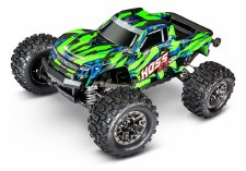Traxxas Hoss 4x4 VXL 3S Brushless Monster Truck Ready to Run (Green)