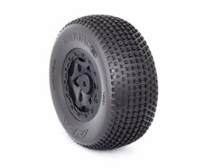 AKA Enduro 3 Short Course Pre-Mount Wheel & Tire - Soft with Red Insert