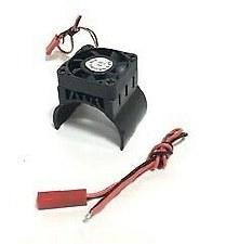 Alum Motor Heatsink with Fan