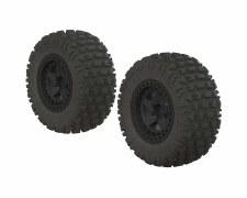 Fortress SC Tire Set Glued Bla