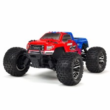 ARRMA Granite 4x4 3S BLX Brushless Ready to Run Monster Truck (Red/Blue)