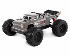 ARRMA Outcast 6S BLX Brushless Ready to Run Monster Stunt Truck (Silver) (V4)