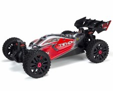 ARRMA 1/8 Typhon V3 3S BLX Brushless 4WD Buggy Ready to Run (Red)