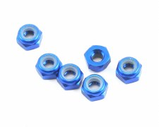 Associated Factory Team Aluminum Lock Nut M3 (6)