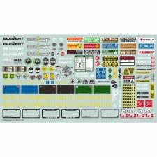 Decal Sheet, for Enduro Trucks