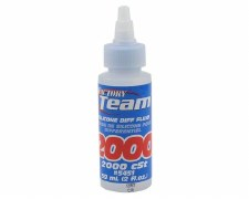 Associated Factory Team Silicone Differential Fluid - 2,000 CST