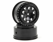 Associated SC10 KMC Hex Wheels - Black (2)